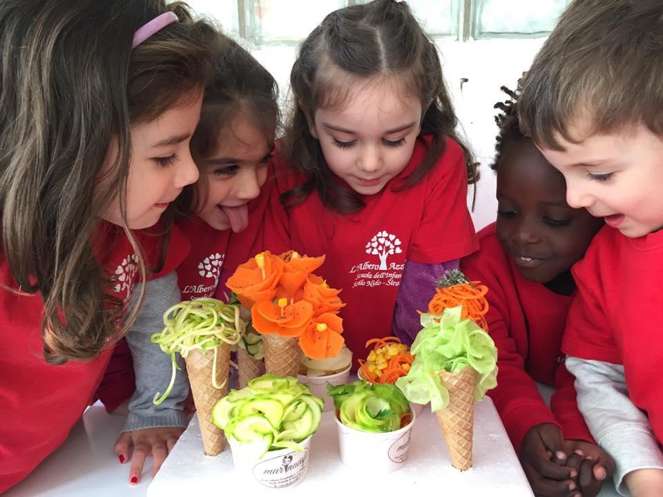 gelati di verdure